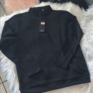 Antigua canyon style half zip sweatshirt sz L NWT